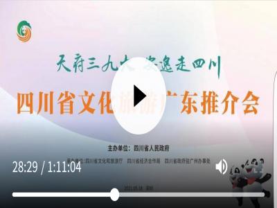 安逸四川灯会亮相深圳一起走进四川省文化旅游广东推介会